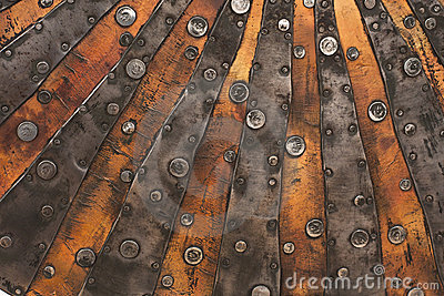 Copper metal texture