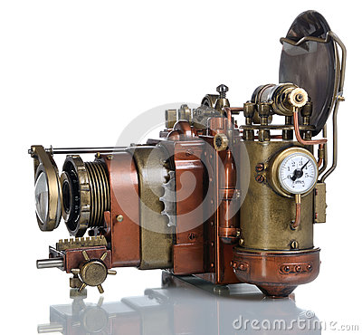Free Copper Photo Camera. Stock Photography - 34178992