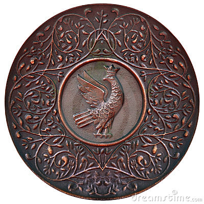 Free Copper Plate Royalty Free Stock Photography - 15747137
