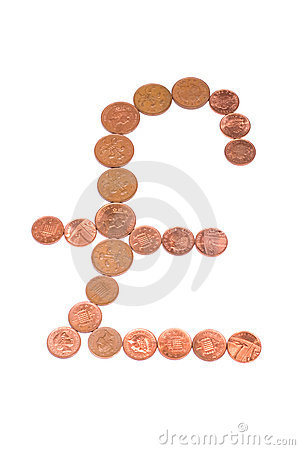 Copper Pound Sign