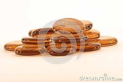 Copper stones