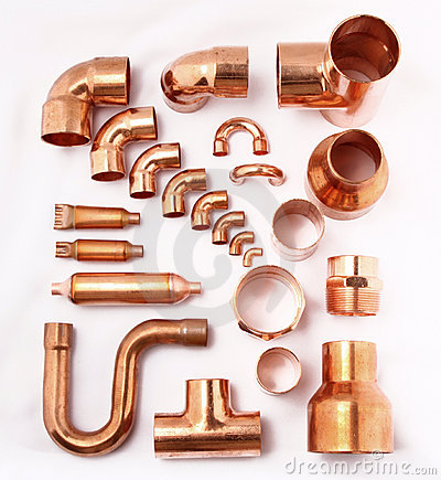 Free Copper Tube Royalty Free Stock Image - 18026026