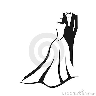 Coppie di cerimonia nuziale