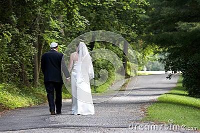 Coppie di cerimonia nuziale - serie