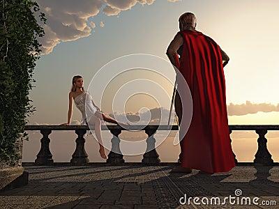 coppie romantiche antiche fotografie stock immagine