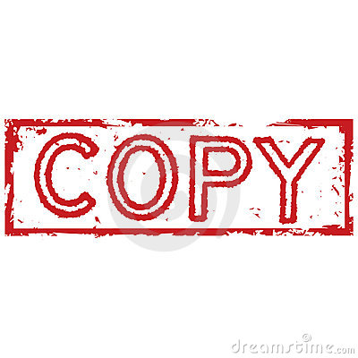 Free Copy Stamp Stock Image - 7305221