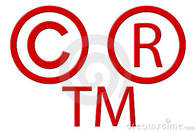 Copyright Registered And Trademark Symbols