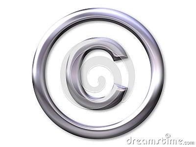 Copyright – silver bevel