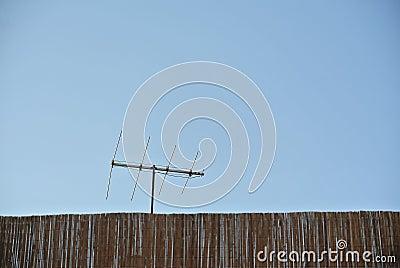 Copyspace de communicationwith d antenne