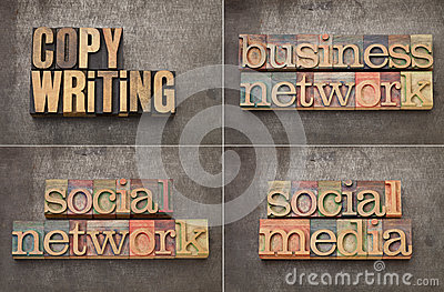 Copywriting, networking and social media