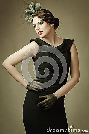 Coquette woman