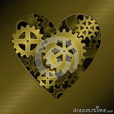 Coração da engrenagem