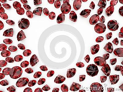 Coração do diamante
