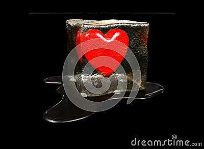 Coração no gelo