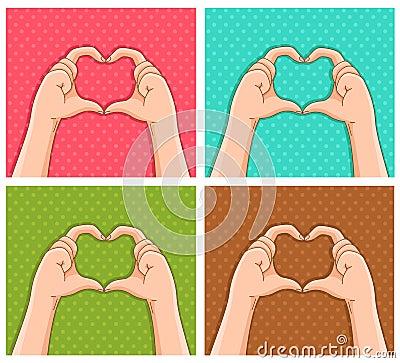 Corações acessíveis