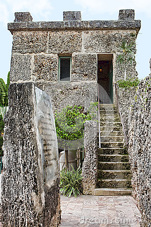 Coral Castle Editorial Photography