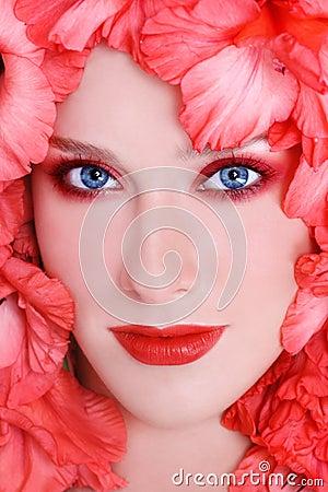 Coral make-up