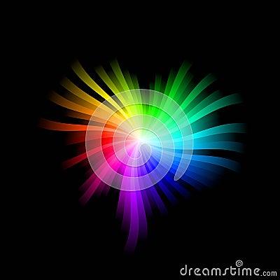 Coração do espectro