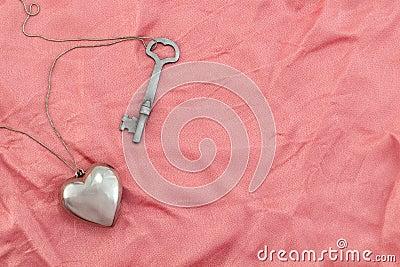 Coração e chave