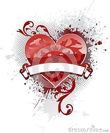 Corazón de la bandera