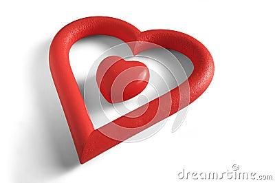 Corazón dentro de un corazón