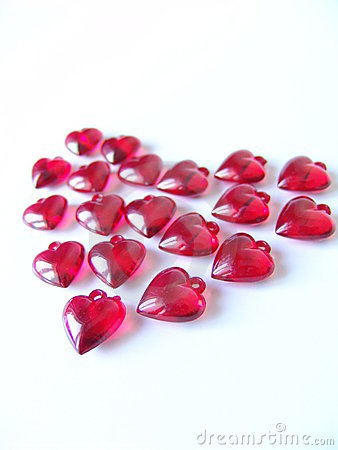 Corazón rojo grande