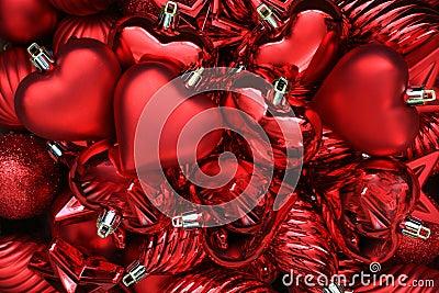 Corazones del día de tarjetas del día de San Valentín.