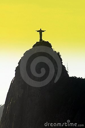 Corcovado s Christ Statue at Rio