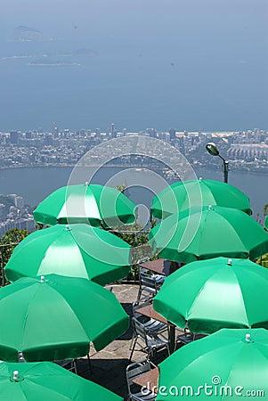 Corcovado view in Rio de Janeiro