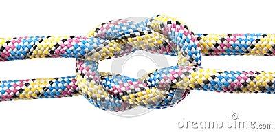 Corde avec le noeud