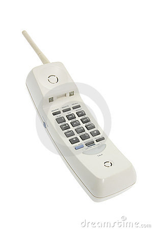 Cordless Phone Royalty Free Stock Photo - Image: 8572905