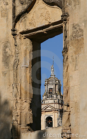 Cordoba, the mezquita tower, Spain