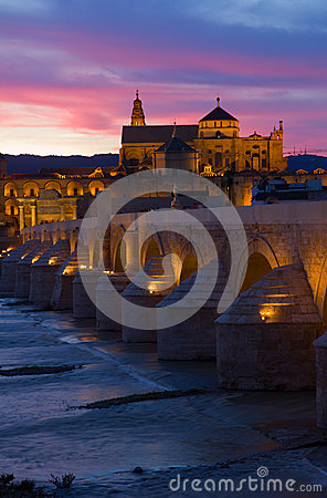 Cordoba at night, Spain