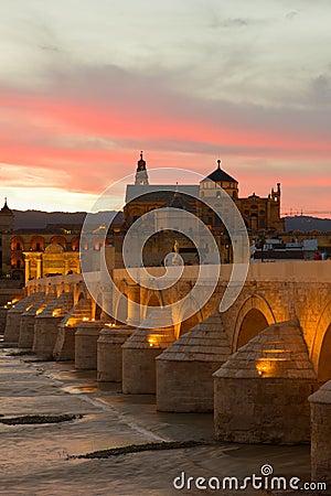 Cordoba at night, Spain