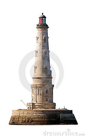 Free Cordouan Lighthouse Isolated Royalty Free Stock Photography - 3771797