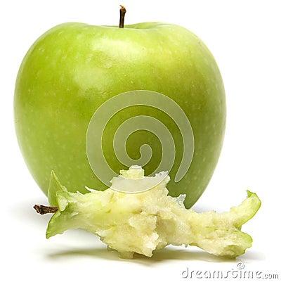 Core of  apple