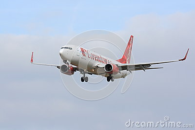 Corendon Boeing 737 Editorial Stock Photo