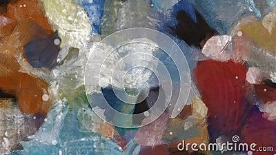 Cores do Pastel Mediterrâneo ilustração stock