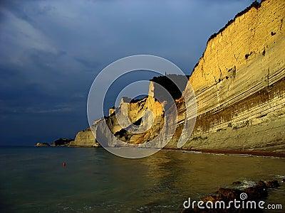Corfu cliffs 2