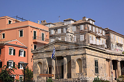 Corfu historical center