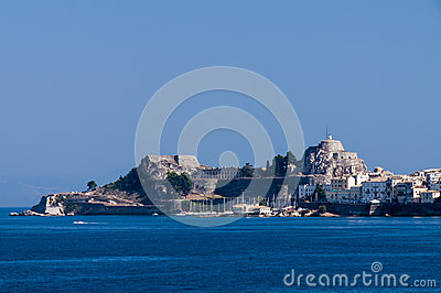 Corfu island in summer