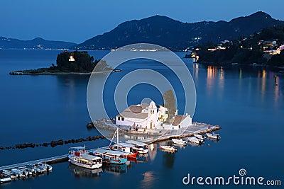 Corfu at night