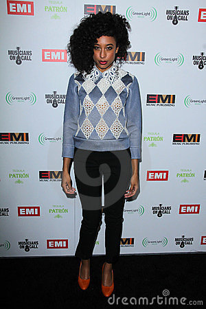 Corinne Bailey Rae Editorial Stock Photo