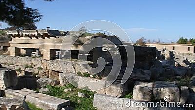 Corinth Ελλάδα απόθεμα βίντεο