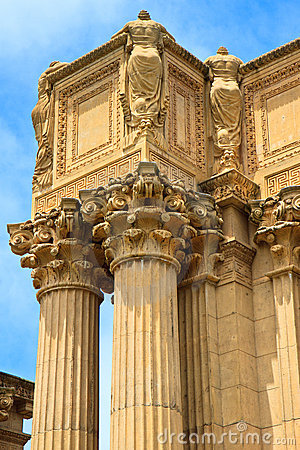 Corinthian column, Palace of Fine Arts