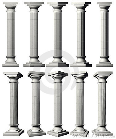 Free Corinthian Pillars Royalty Free Stock Image - 7290396