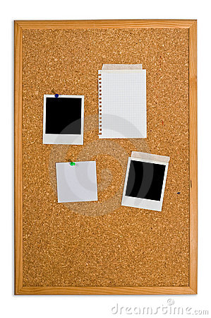Free Cork Board Royalty Free Stock Photo - 5556865
