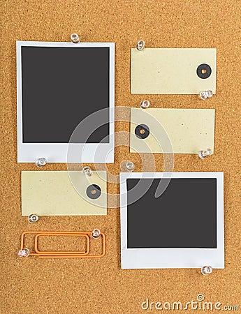 Free Cork Board Stock Image - 64629731