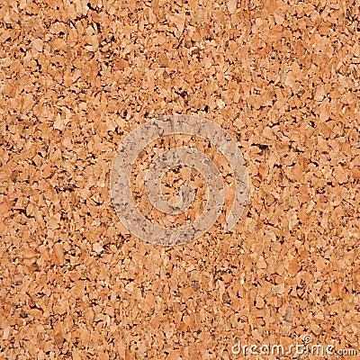 Cork board background.