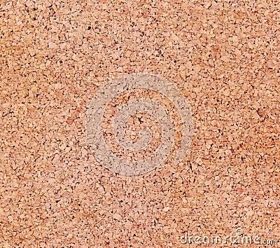Cork board closeup